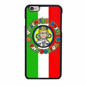 valentino rossi the doctor 46 iphone 6 6s 4 4s 5 5s 6 plus cases