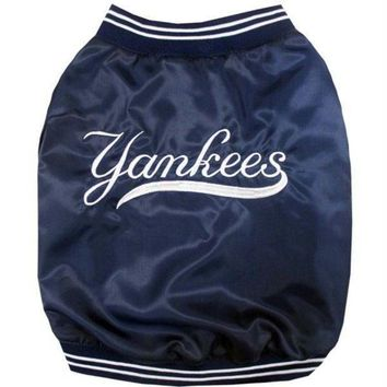ONETOW New York Yankees Pet Dugout Jacket