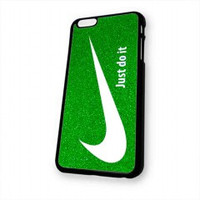 Nike Just Do It Glitter Green (2) for iphone 6 case