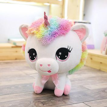 2018 Adorable Plush Big Eyed Unicorn Pre Order