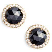 kate spade new york bright ideas pavé halo stud earrings | Nordstrom