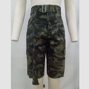 Hot Shorts Plus Size 2018 Womens Workout Cotton Army Ladies Military Camouflage Cargo Short Pants Uniform Combat Hot Denim  OverallsAT_43_3