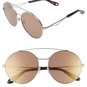 Givenchy 62mm Oversize Round Sunglasses | Nordstrom