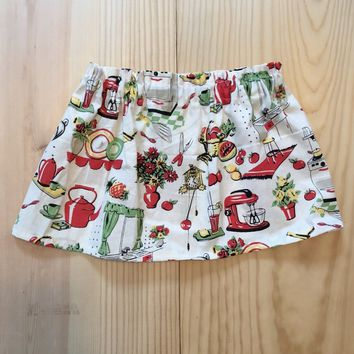 Vintage Appliances Skirt