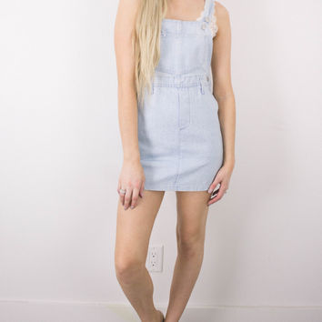 Vintage LEE Overalls Mini Dress