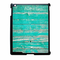 Teal Wood iPad 3 Case