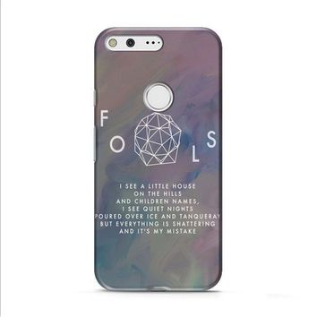 Troye Sivan Fools Lyrics Google Pixel XL 2 Case