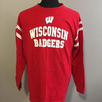 Best wisconsin badger shirts products on wanelo for University of wisconsin t shirts