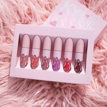 Kylie Birthday Velvet Matte mini set
