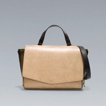 MESSENGER BAG WITH ZIPS - Handbags - Woman - New collection - ZARA United States