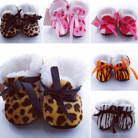Baby Girl Crazy Prints Boots