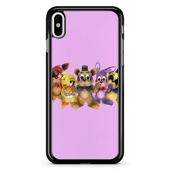 Five Nights Of Kawaii Chibi iPhone X Case