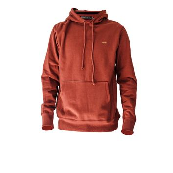 Raised by Wolves Shattered Hooded Sweatshirt Brick Red