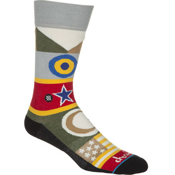 Stance Chocolate Casual Socks Chocolate Flags, L/XL