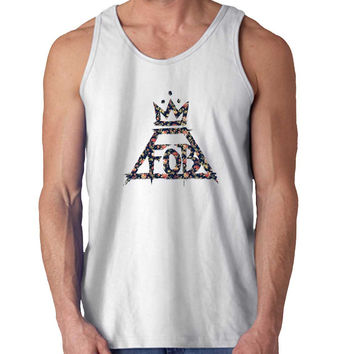 fall out boy rose For Mens Tank Top Fast Shipping For USA special christmas ***