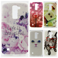 Soft TPU Case sFor LG K7 X210 X210DS MS330 case For LG Tribute 5 / M1 LS675 Printing Cover Silicon Back Protector Phone Cases
