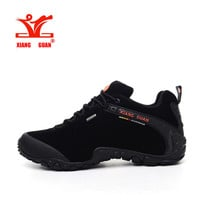 XIANG GUAN Man Hiking Shoes Waterproof Outdoor Climbing Men Trainers Trekking Sneaker Breathable 40-48 Plus Size  US 12 13 14 15