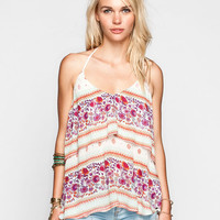 O'neill Dale Womens Halter Top Multi  In Sizes