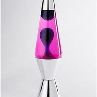 Lava Lamp - 14.5 Inch Pink Liquid Blue Wax - Spencer's