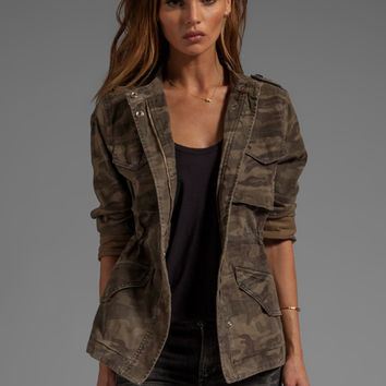 Sanctuary Safari in the City Camo Jacket in Safari from REVOLVEclothing.com