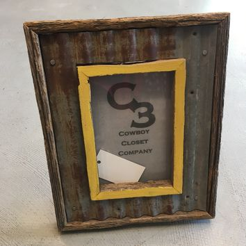 Barn Wood Picture Frame 5x7
