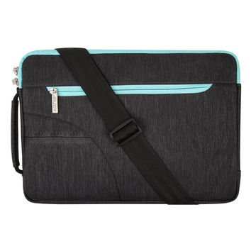 Mosiso Side Handble Portable 11 13 15 inch Strap Laptop Shoulder Bag for Macbook Acer Chromebook HP ASUS Notebook
