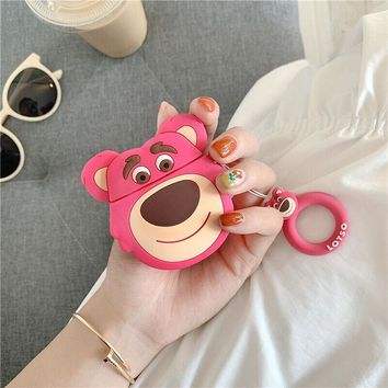 Lotso the Bear Toy Story 3 Pixar Apple Airpods Case FREE SHIPPING