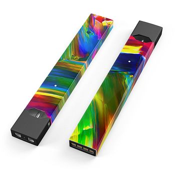 Skin Decal Kit for the Pax JUUL - Blurred Abstract Flow V29