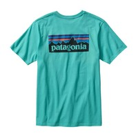 Patagonia Men's P-6 Logo Cotton T-Shirt