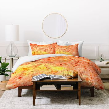 Rosie Brown Florida Orange Duvet Cover