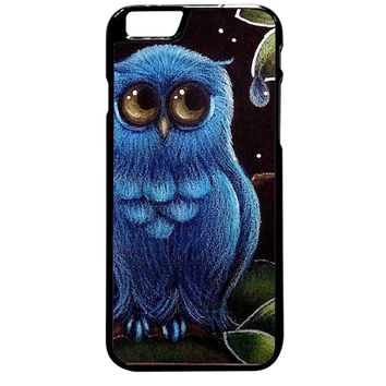 Blue Owl For iPhone 6 Plus Case **