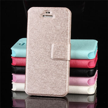Mobile phone case for iphone 5 5s se brand luxury wallet pu leather flip cover for iphone5s ipone 5 i5 i phone5 coque fundas