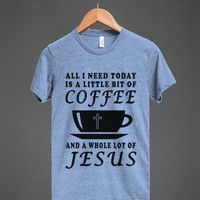 coffee jesus athletic style - Totes Adorbs Tees - Skreened T-shirts, Organic Shirts, Hoodies, Kids Tees, Baby One-Pieces and Tote Bags