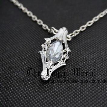 Lord of Rings Galadriel's gift Frodo's crystal bottle pendant The Light of Earendil LOTR Fashion Jewelry