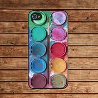 Watercolor--iphone 4 case,iphone 4s case,iphone 4 cover,in plastic or silicone case