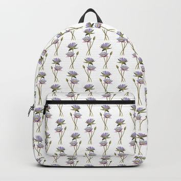 Lotus flowers Backpack by savousepate