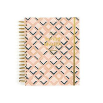 2019 Wise Words Planner - Pink Tile