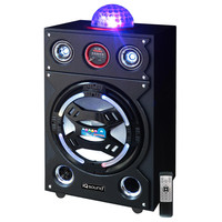 "15"" Portable Bluetooth DJ Speaker"