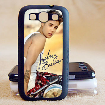 Justin Bieber,Signature,Custom Case, Samsung Galaxy S2/S3/S4/S5/Note 2/3,iPhone 4/4s/5/5s/5C, Htc One S/M7/M8, Moto G/X