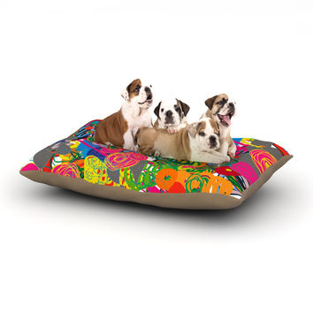 "Frederic Levy-Hadida ""Psychedelic Garden"" Dog Bed"
