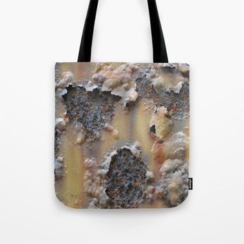 Iron Tote Bag by abeerhassan