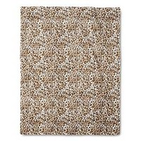 "Brown Cheetah Print Throw (50""X60"")"