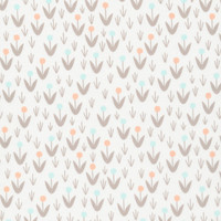 Dottie Blooms Ivory - Organic Cotton - Morning Song Collection (5208.52.00.90)