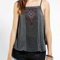Urban Outfitters - Ecote Jolynn Embroidered Cami