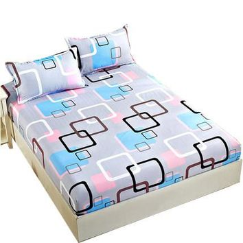 Unihome King/Queen/Double/King Size Fitted Sheet with pillow case