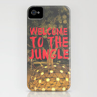 WELCOME TO THE JUNGLE iPhone Case by RichCaspian | Society6