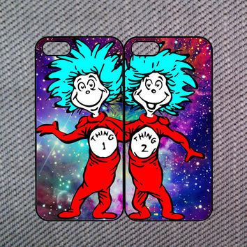 Thing 1 and Thing 2,iPhone 5C case,iPhone 5 case,iPhone 5S case,iPhone 4 case,iPhone 4S case,iPod 4 case,iPod 5 case,Z10 case,Blackberry Q10