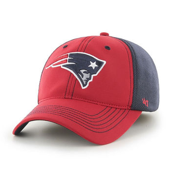 New England Patriots 47 Brand Reversal Team Color Closer Mesh Flex Fit Hat
