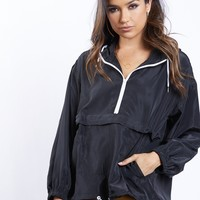 Quarter Zip Windbreaker