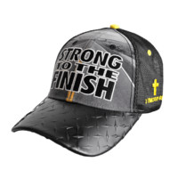 Christian Cap - Strong To The Finish